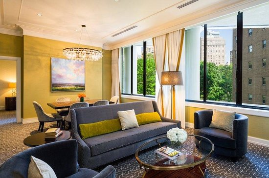 The Rittenhouse Hotel: Suite Living And Dining Room