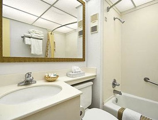 Ramada Plaza Fort Walton Beach Resort/Destin: Bathroom