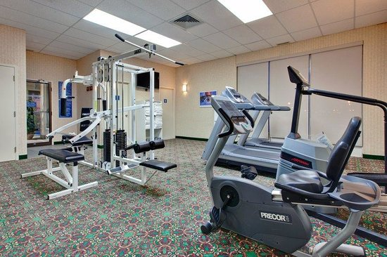 Longueuil, Canada: Our convenient gym will please everyone!