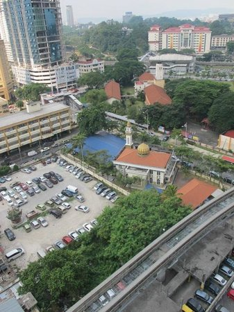 Hotel Sentral: view from room 13F