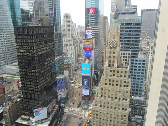 New York Marriott Marquis: View from 40th Floor