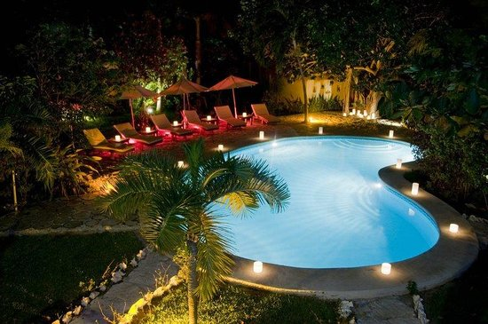 Na Balam Beach Hotel: Pool