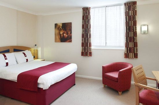 Holiday Inn Express Nottingham City Centre : Double Bedded Room