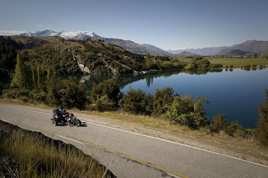 Take in the sights of Wanaka on the Trike.