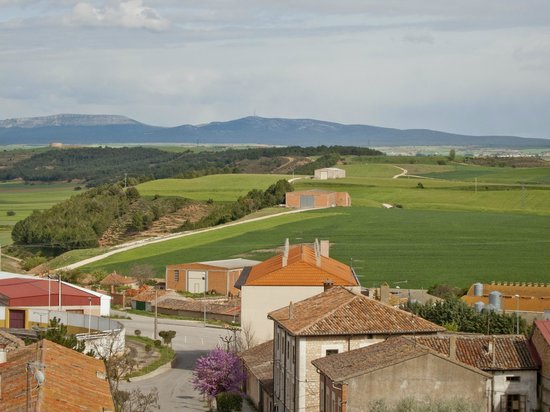 Lerma, Spagna: from our room - the local landscape