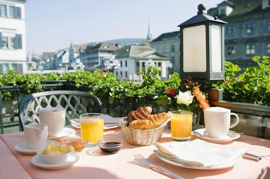 Storchen Zurich: Breakfast