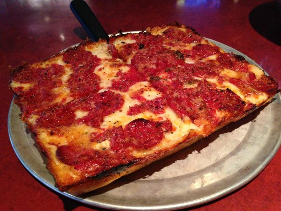 Buddy S Pizza The Detroiter Picture Of Buddy S Pizza