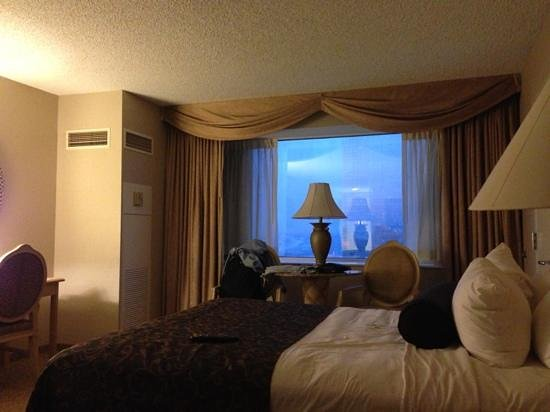 Trump Taj Mahal: room with view