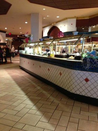 Trump Taj Mahal: buffet restaurant