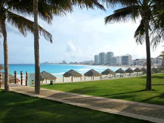 Hyatt Regency Cancun: gorgeous beach view