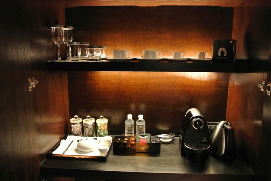 The Puli Hotel and Spa: Nespresso