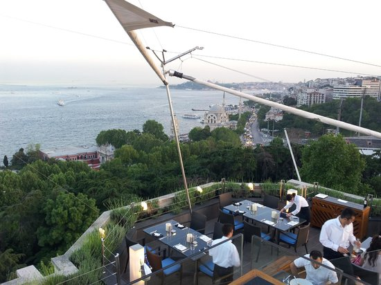 Swissotel The Bosphorus: terrazza sul bosforo