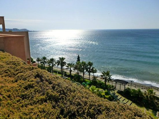 Gran Hotel Elba Estepona & Thalasso Spa: Morning view from balcony