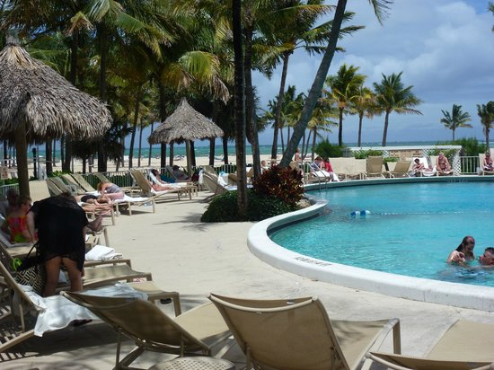 Lago Mar Resort and Club: Pool 1 mit Blick zum Strand