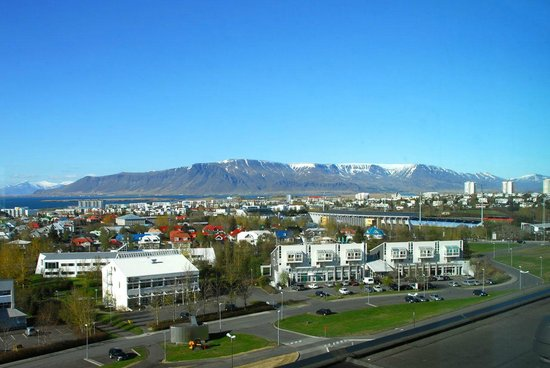 Hilton Reykjavik Nordica: View from the room (bay side)