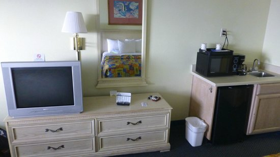 Days Inn Pensacola Beachfront: typische Motelausstattung
