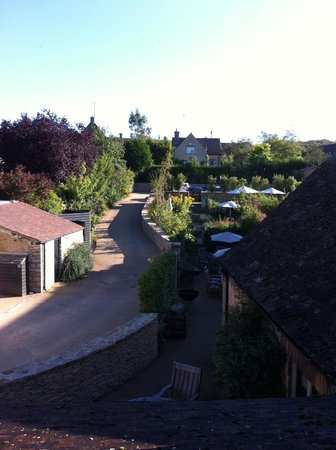 Northleach, UK: View from room 1