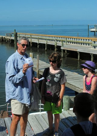 Morehead City, NC: talking about wildlife