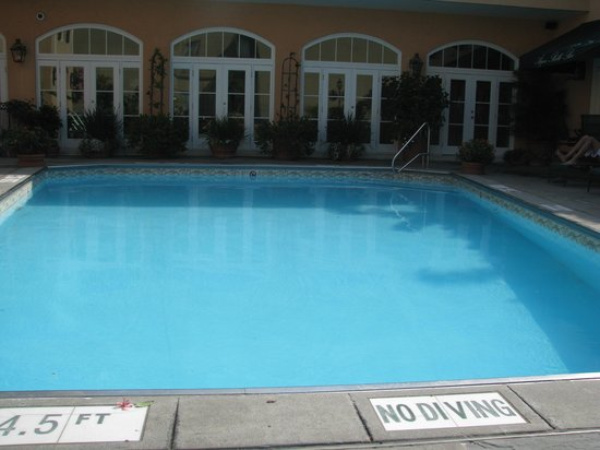 Hotel Monteleone: The rooftop pool