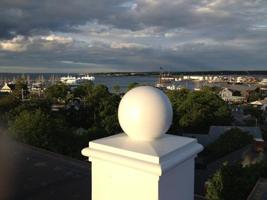 Vineyard Haven, MA: View from cupola deck