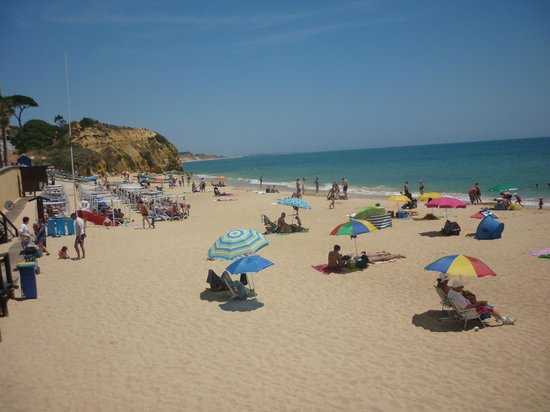Riu Palace Algarve: Resort beach