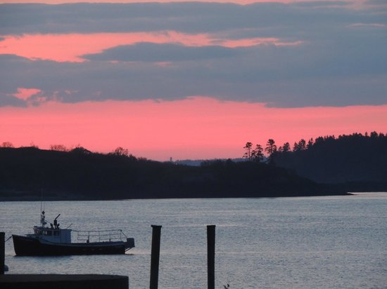 Lubec, ME: sunset 2nd night!!
