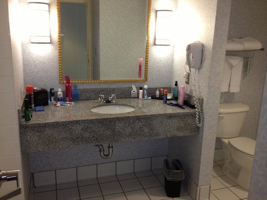 Waterfront Place Hotel: Bathroom