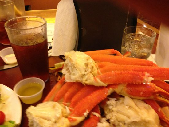 Grand Biloxi Casino Hotel & Spa: Friday night Seafood Buffet - Crab legs