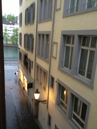 Hotel Hirschen: view from window