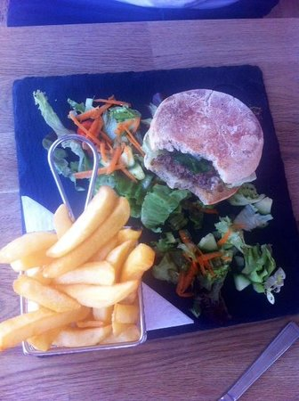 Bude, UK: Amazing burger
