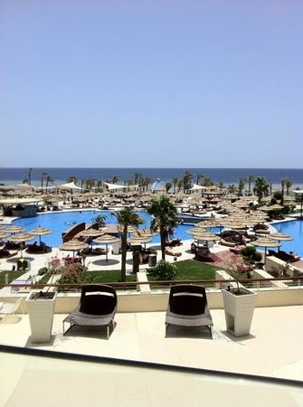 Sensatori Sharm El-Sheikh by Coral Sea: View from lobby bar