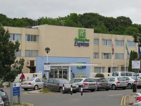 Holiday Inn Express Norwich : Largest room at the hotel is behind the Holiday Inn sign!