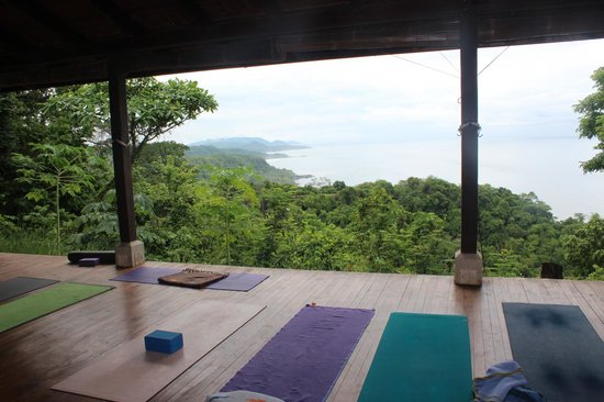 Anamaya Resort & Retreat Center: The Yoga Deck
