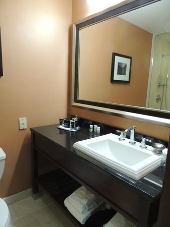 Millennium Bostonian Hotel: Bathroom - Room 609