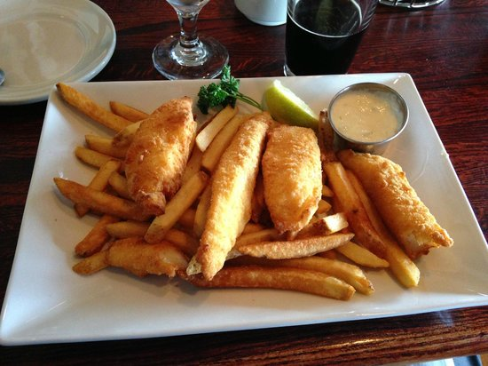 Fish chips picture of ivar 39 s acres of clams seattle for Best fish and chips in seattle