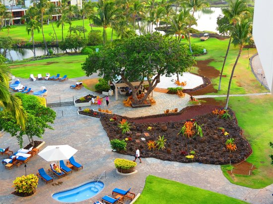 Mauna Lani Bay Hotel & Bungalows: View after removal of Ocean Grill and bathrooms