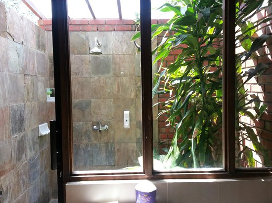 The Frangipani Langkawi Resort & Spa: shower at the garden
