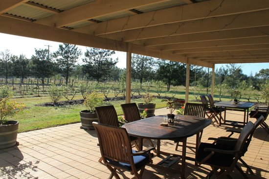 Lovedale, Australia: Country House Terrace