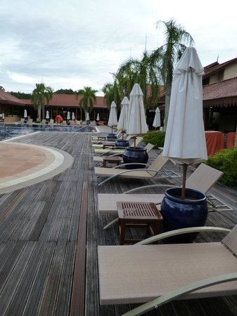 ‪‪Club Med Cherating Beach‬: Main Pool Deck‬