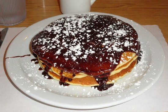 pancakes napoleon - Picture of Red Rooster Pancake House, Pigeon Forge ...