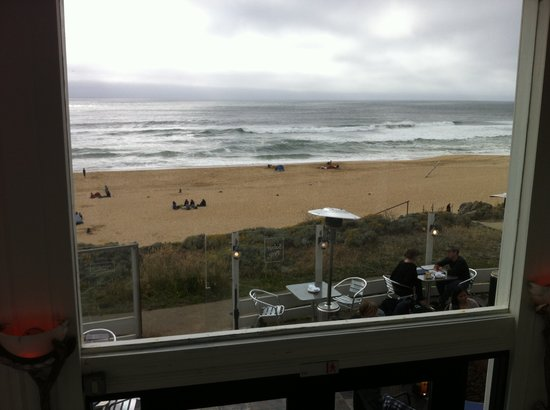 Montara, Californië: View from our table