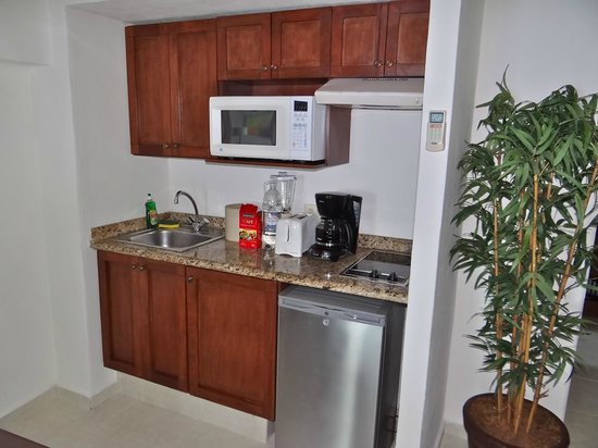 El Cid La Ceiba Beach Hotel: Kitchenette