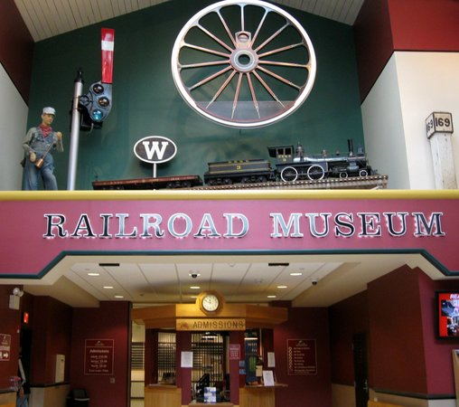 Strasburg, PA: Lobby of the Railroad Museum of Pennsylvania