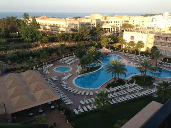 ClubHotel Riu Guarana: view from our room