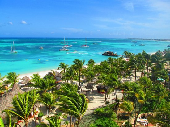 Occidental Grand Aruba: View overlooking the beach
