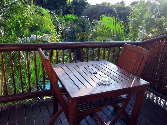 Elephant Coast Guest House: Balkon