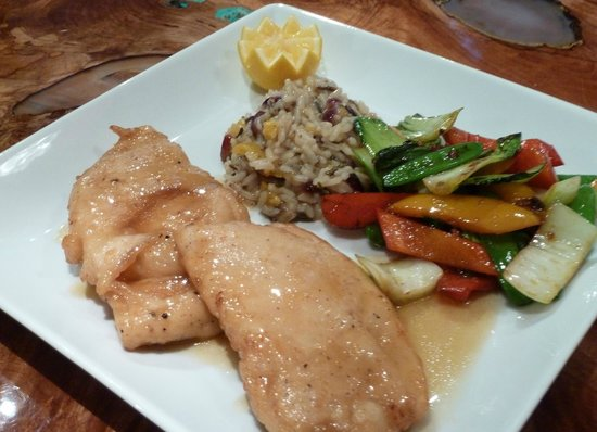 Arnold Black Bear Inn: lemon chicken