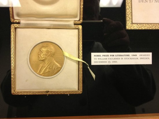 Oxford, MS: Faulkner's Nobel Prize, University of Mississippi Library