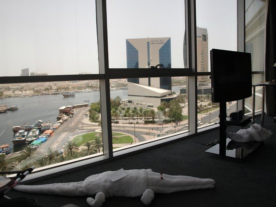 Hilton Dubai Creek: View of the Creek