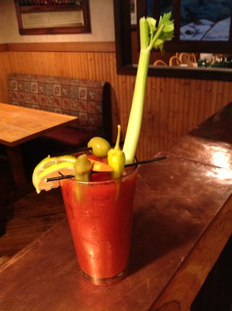 Sunday Brunch Bloody Mary - Picture of Blue Ridge Brewing Co ...